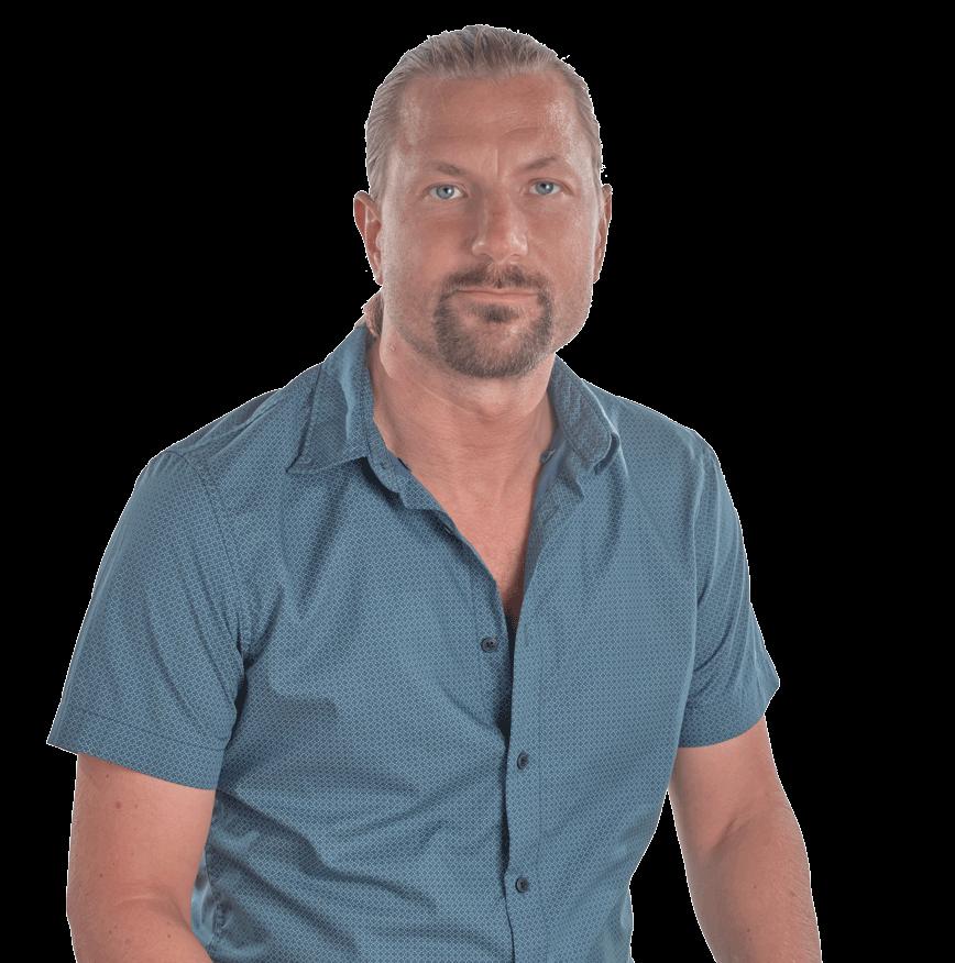 Stefan Portrait, kurzärmliges Hemd
